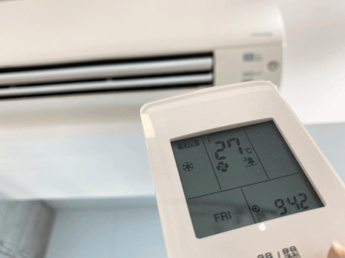 冷氣溫度每調高1度可省下6~9%耗能