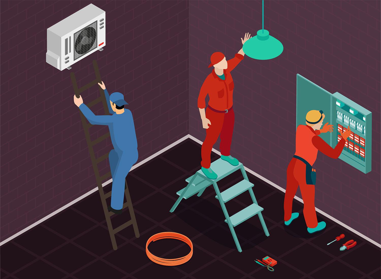 家中各種跟電有關的維修,都會需要用配電箱斷電