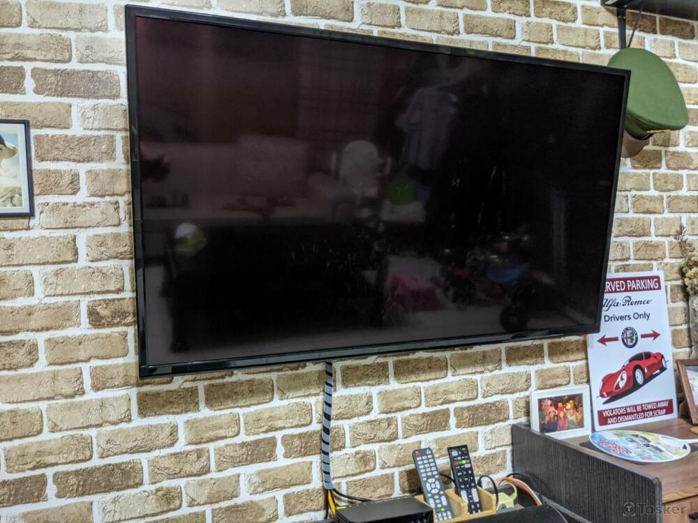 壁掛電視的安裝方法